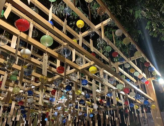 川越氷川神社 ライトアップ02