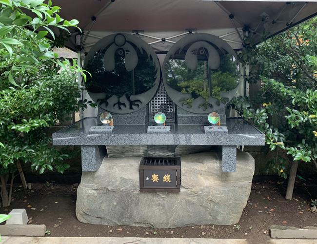 川越熊野神社 八咫烏様