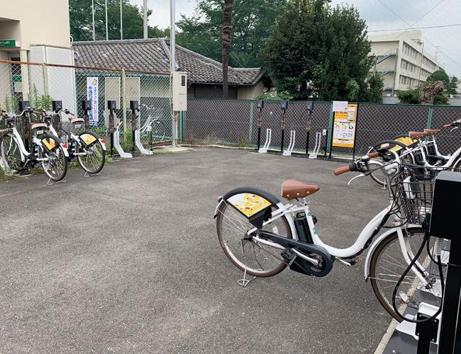 川越市自転車シェアリング 川越市駅