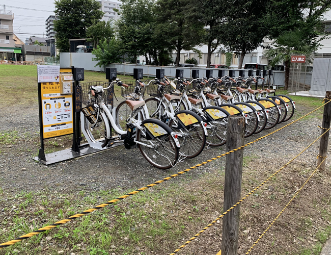 川越市自転車シェアリング 喜多院西