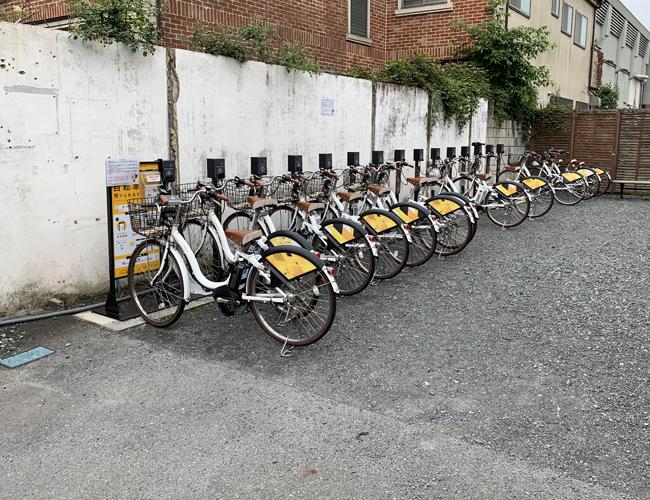 川越市自転車シェアリング 川越まつり会館