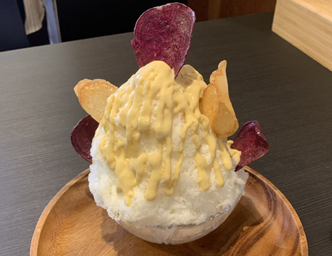 亀屋十吉 熟成さつま芋かき氷