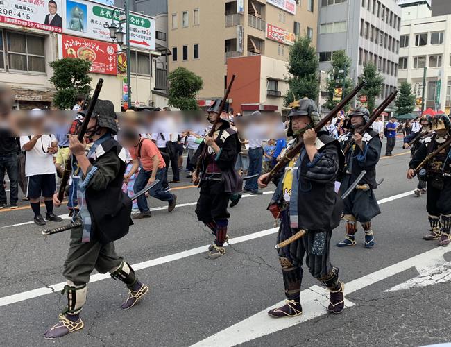 川越藩ゆかりの時代行列