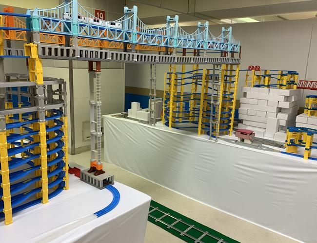 わくわく鉄道ランド 鉄道おもちゃのトンネル