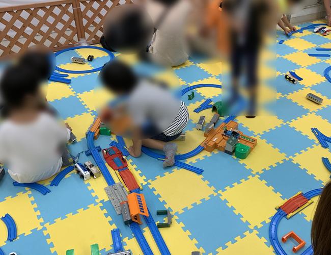 わくわく鉄道ランド 鉄道模型で遊べるスペース