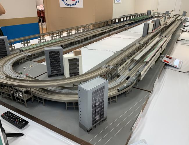わくわく鉄道ランド 巨大ジオラマ運転体験