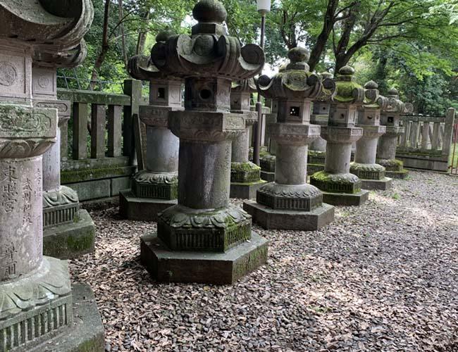 仙波東照宮 石灯籠