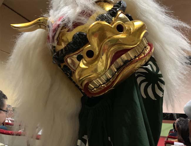 元町1丁目のお囃子公演