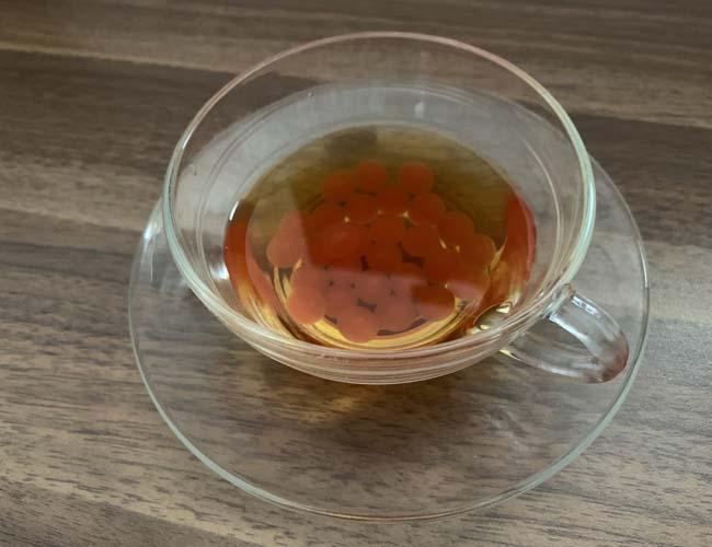午後の紅茶ストレートティー×ポッピングボバ