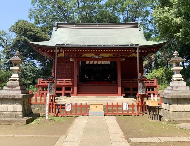 三芳野神社 拝殿