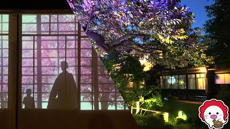 旧山崎家別邸ライトアップイベント