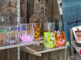 ブルームーン吹きガラス体験