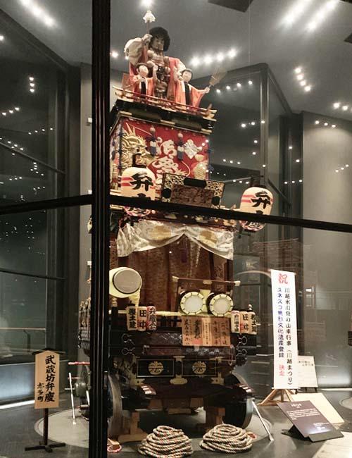 弁慶の山車(志多町)