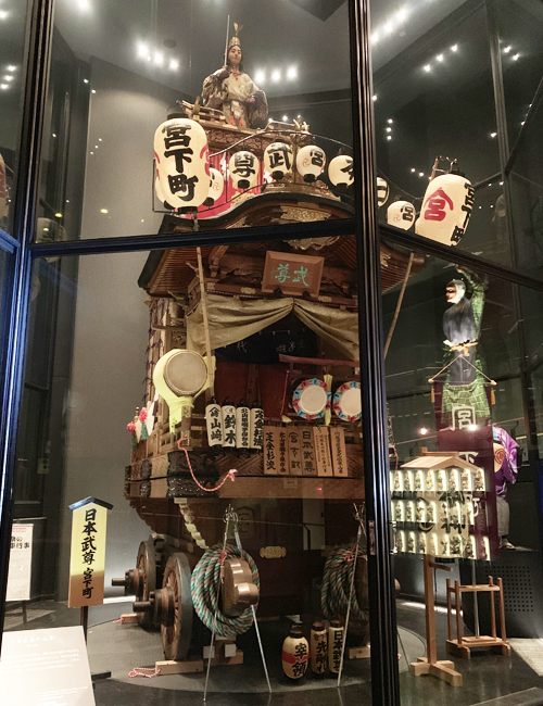 日本武尊の山車