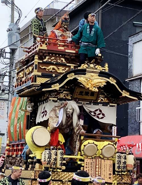 羅陵王の山車(仲町)