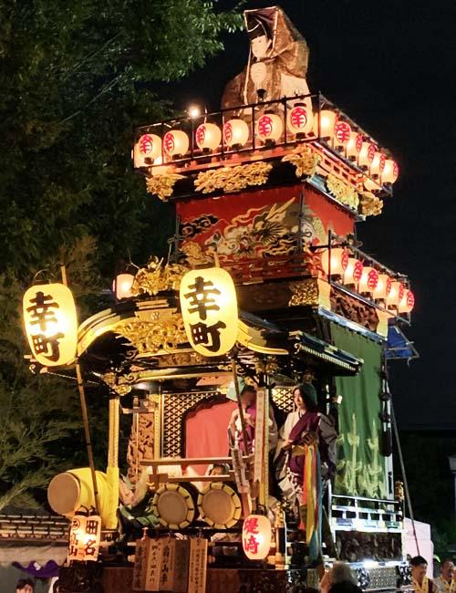 翁の山車(幸町・雪塚会)