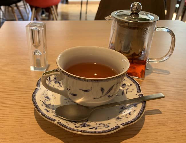 Happy Breadの紅茶