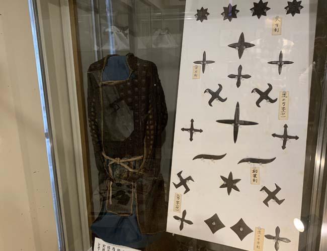 川越歴史博物館 忍の道具の展示
