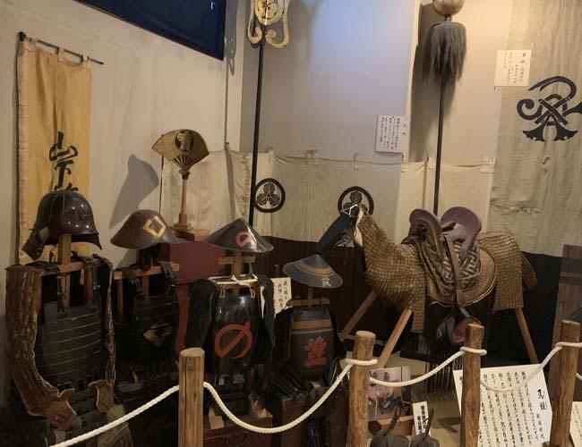 川越歴史博物館 兵士の鎧