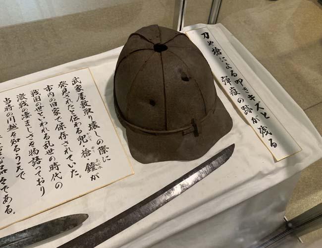 川越歴史博物館 3階の展示