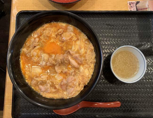 小江戸OHANAの極上親子丼