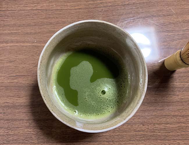 丹徳庭園 抹茶体験