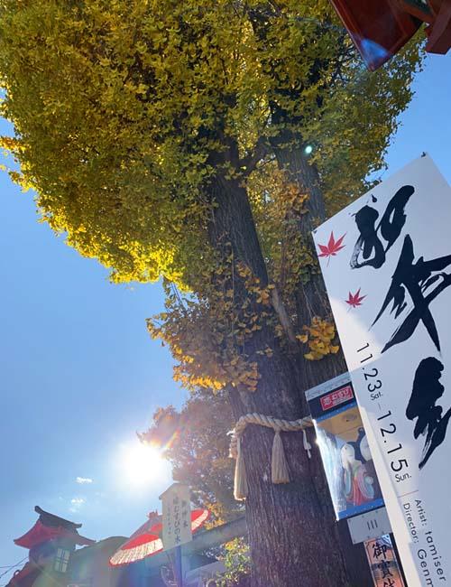 川越八幡宮の紅葉
