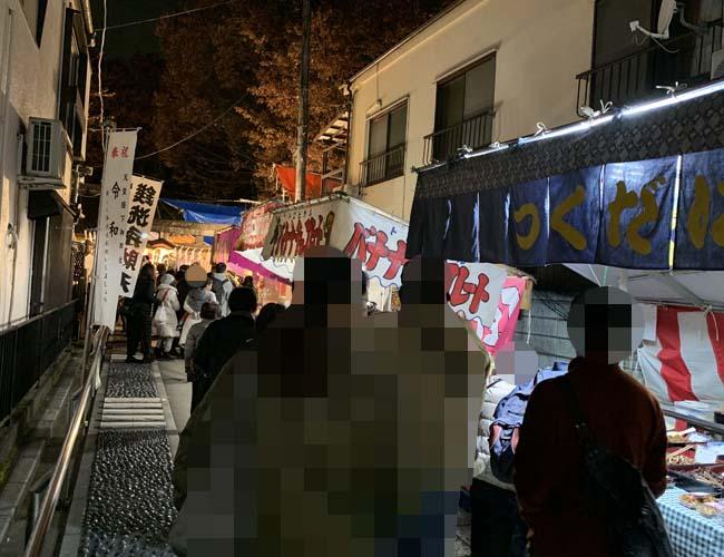 川越熊野神社 酉の市