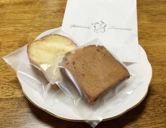 パティスリー サトの焼き菓子