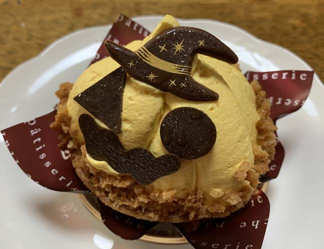 ハロウィンおばケーキ