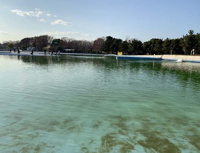 川越水上公園 造水プール