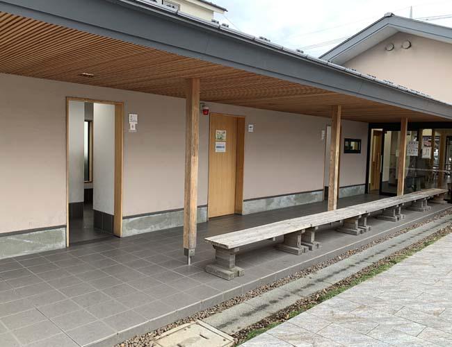 元町休憩所のトイレ