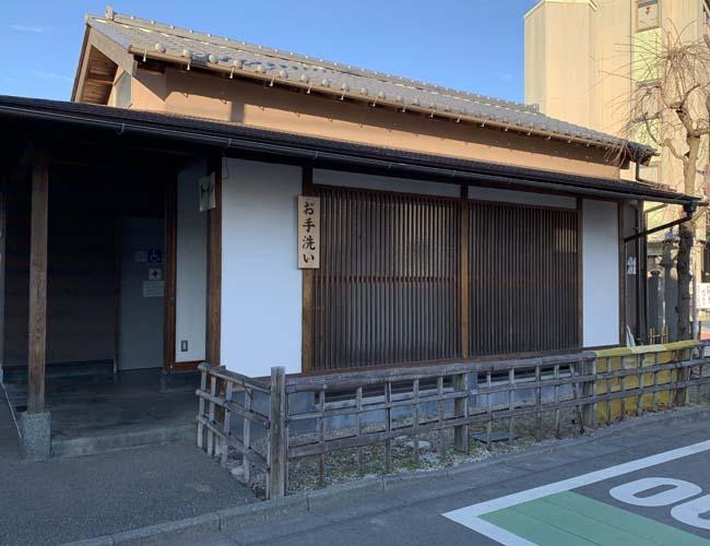 成田山川越別院 公衆トイレ