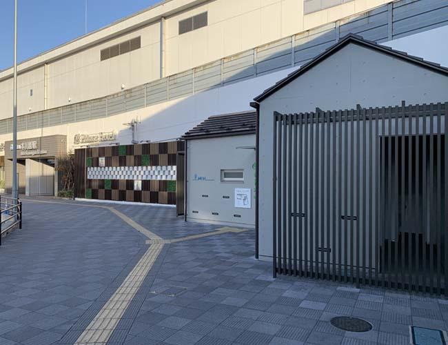 本川越西口の公衆トイレ