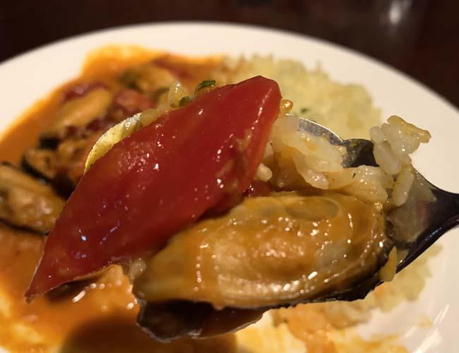 ムール貝の煮込み