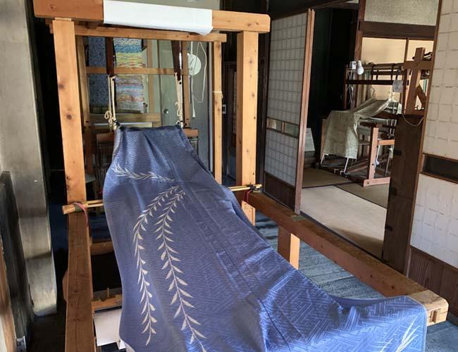蕨市立歴史民俗資料館分館 機織り機