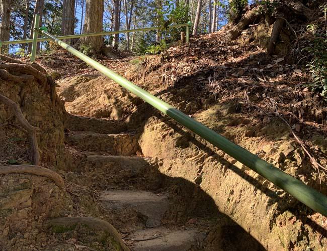 高麗神社 水天宮への道