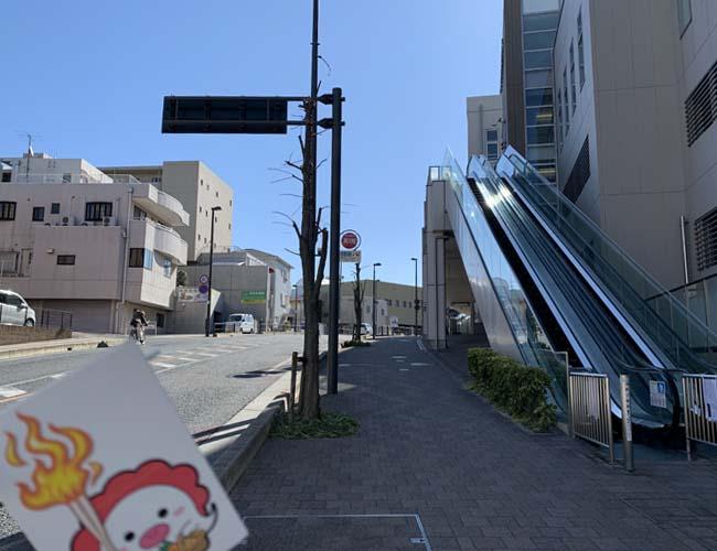 狭山市の聖火リレールート道中記