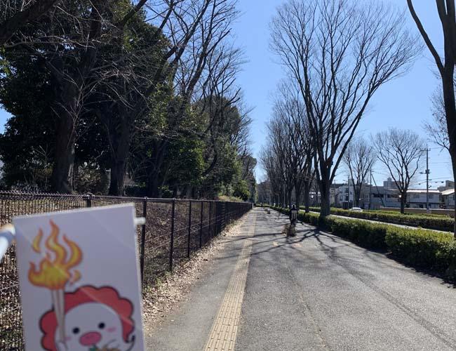 所沢市の聖火リレールート道中記