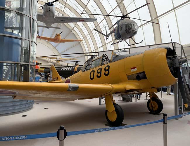 所沢航空発祥記念館の展示館