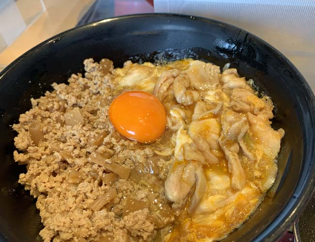 そぼろ親子丼(Sサイズ)