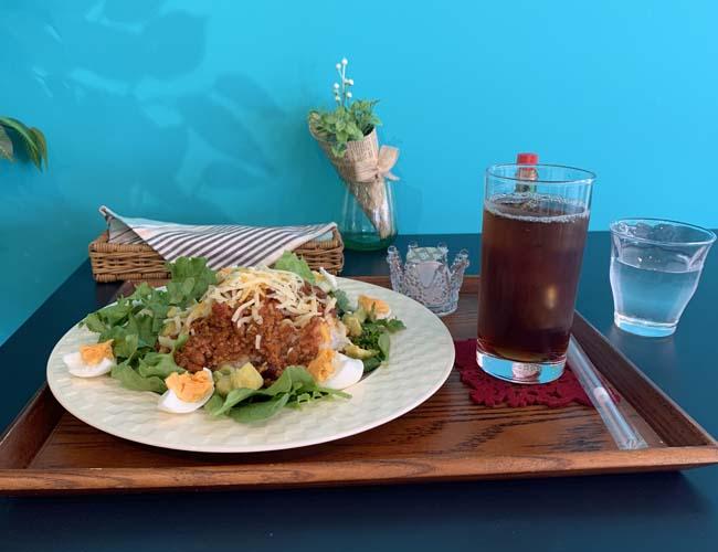 Cafe Coideのタコライス