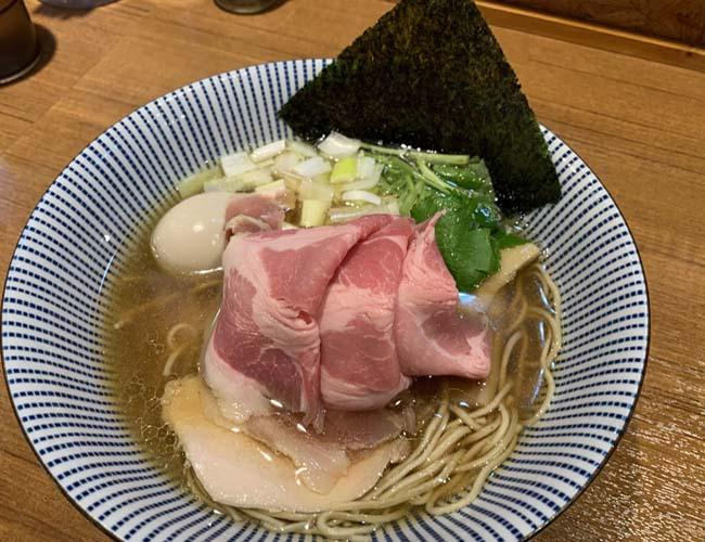 寿製麺よしかわ 煮干そば 白醤油