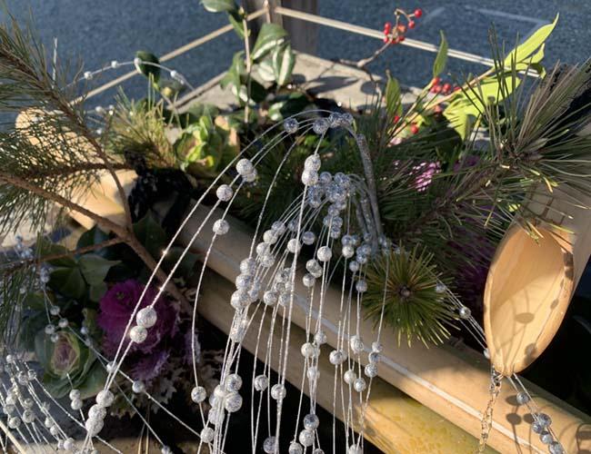 成田山川越別院の花手水