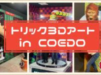 トリック3Dアート in COEDO