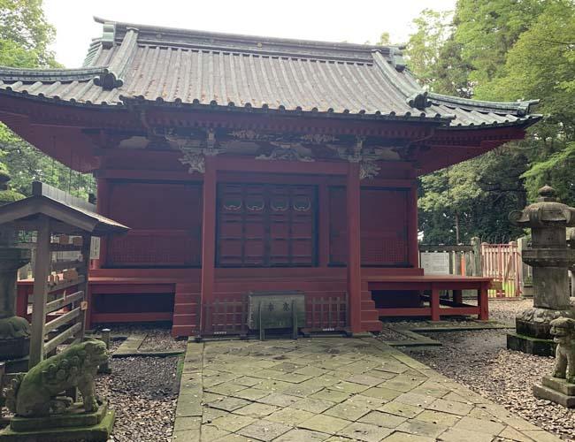 仙波東照宮 拝殿