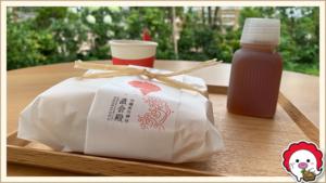 川越氷川神社 神社広場のキッチンカー